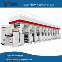 Wholesale Strong Quality High Speed 160m/Min 1-8 Colors Gravure Press Rotogravure Printing machine from china suppliers