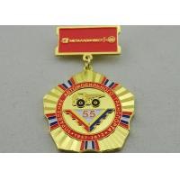 Wholesale 2D or 3D Brass Custom Awards Medals on Breast with Die Stamping, Photo Etching, Injection from china suppliers