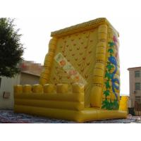 Wholesale 0.55mm PVC Tarpaulin Inflatable Sports Games / Exciting Outdoor Rock Inflatable Climbing Mountain from china suppliers