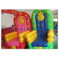 Quality Pvc Tarpaulin Seat Air Inflatable Sofa Couch Chair , Inflatable Chair for sale