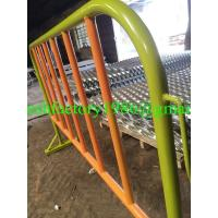 Wholesale orange safety fence barrier from china suppliers