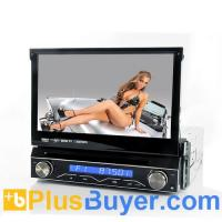 Wholesale Soundwave - 7 Inch Flip Out Screen 1 DIN Car DVD Player with GPS and Detachable Front Panel from china suppliers