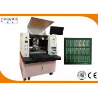Wholesale None Touch Depaneling Solution Dual Table PCB Laser Cutting Machine from china suppliers