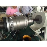 Wholesale 40Cr Die Material PVC Pipe Extrusion Line , Hdpe Pipe Extrusion Production Line from china suppliers