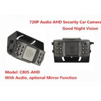 Wholesale Audio IR 15m Night Vision 720P AHD Vehicle Mounted Cameras Security Car Camera from china suppliers