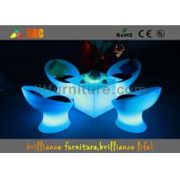 Wholesale RGB LED Bar Tables For entertainment , outdoor dining furniture from china suppliers
