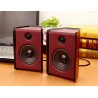 Wholesale USB Powered Multimedia Computer Speakers , 4 Ohm 2.0 Channel Active Computer Speakers from china suppliers