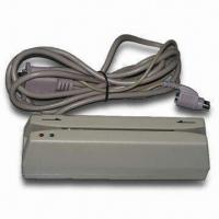 Buy cheap 1/2/3 Track Magnetic Stripe Card Reader, Can Read Hi-co/Lo-co Through Com Port from wholesalers