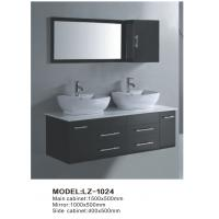 Wholesale double MDF bathroom cabinet from china suppliers