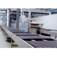 Wholesale Chocolate Cake Production Machine , Custrad Pie Cup Cake Manufacturing Equipment from china suppliers