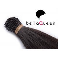 Wholesale BellaQueen I Tip Keratin Human hair extenison 1g each PC 6A Remy from china suppliers