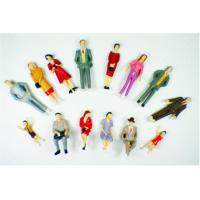Wholesale P30-14 outdoor 1:30 Architectural Scale Model People Painted Figures 5.5cm from china suppliers