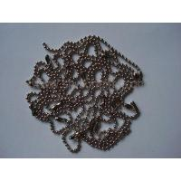 Wholesale Silver ball Chain, Metal Bead Chain, Fastener, Promotional Gift from china suppliers