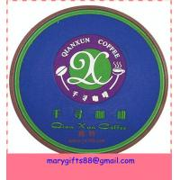 Wholesale promotional soft pvc drink coaster from china suppliers