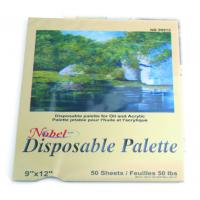 Wholesale Square Disposable Palette Acrylic Artist Paint Pad 12 X 16'' / 9 X 12' Size from china suppliers