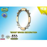 Wholesale Ref.BD020 Brass Decoration Metal Tombstone Frame Material Copper Alloy Size 8*10,11*15cm from china suppliers