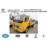 Wholesale hot sale bottom price Dongfeng 4*2 LHD/RHD 4 ton lorry trucks, China famous dongfeng brand 4tons pick-up cargo truck from china suppliers