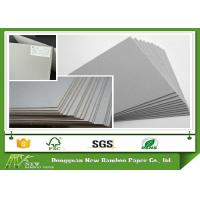 Wholesale Grade A Grey Chip Board with 100% Recycled Paper SGS Certificate Anti-Curl Cardboard Sheets from china suppliers