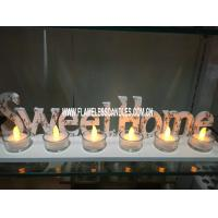 "Wholesale Yellow Wholesale Glass Votive Candles with  "" SWEET HOME ""  Tray For Home Decoration from china suppliers"
