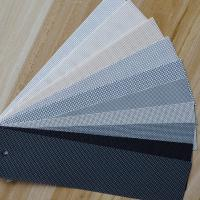 Wholesale gray color Sun Shade mesh fabric screen from china suppliers
