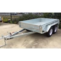 Quality 8x5 Hot Dipped Galvanized Tandem Trailer 2000KG for sale