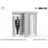 Wholesale Full Height Rotating Pedestrian Turnstile Gate , Automatic Turnstile Security Systems from china suppliers