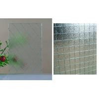 Wholesale 6 - 7mm Hotels , Family Clear Wire Reinforced Glass with CE & ISO9001Approved from china suppliers