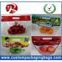 Wholesale Bottom Gusset Fruit Packaging Bags Zipper Close Custom Made for Farm from china suppliers
