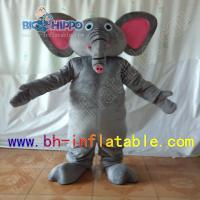 Quality elephant mascot costume for sale