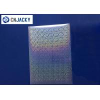 Wholesale Clear Smart Card Material Overlay PVC Holographic Film For ID Cards / VIP Card from china suppliers