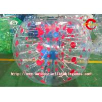 Wholesale 0.8mm PVC / TPU Adult Bumper Balls / Sports Football Inflatable Bumper Ball from china suppliers
