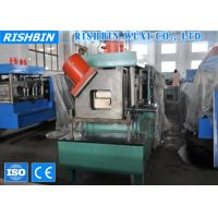 Wholesale High Speed Z Profile Steel Purlin Roll Forming Machine  with PLC Touch Screen from china suppliers