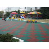 Wholesale High Elasticity EPDM Rubber Granules , Colorful Playground Rubber Mats from china suppliers
