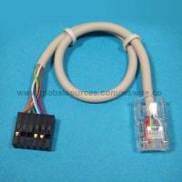 Wholesale RJ45 Cable/Lan Cable/Network Cable Assembly with RJ45 8P8C Plug to Crimp Type Connector from china suppliers