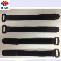 Wholesale Velcro strap with plastic buckle hook and loop cable organizer for PC,TV,SPORT SUPPLIES from china suppliers