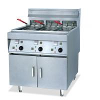 Wholesale 2 Tanks 4 Basket Electric Deep Fryer Commercial With Computer Control Panel from china suppliers