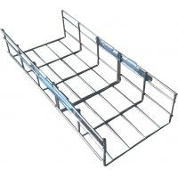 Wholesale Industrial steel galvanized metal vertical straight wire mesh cable tray, 200*100mm from china suppliers