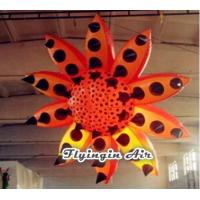 Wholesale 3m Orange Spotted Inflatable Flower for Party and Event Decoration from china suppliers