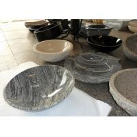 Wholesale Beige Vanity Stone Countertop Basin For Bathroom / Kitchen SGS Approved from china suppliers