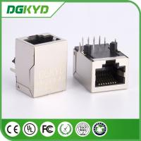 Wholesale 10/100Base 1x1 Tab Down rj45 lan Jack Network Connector with lan transfomer from china suppliers