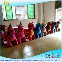 Wholesale Hansel coin operated Animated Electronic Plush Toys Kiddie Rides Cheap Go Karts For Sale from china suppliers