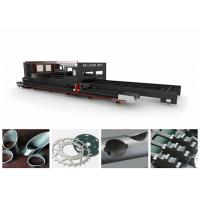 Wholesale Square Pipe / Tube Stainless Steel Metal Laser Cutting Machine Low Power Consuption from china suppliers