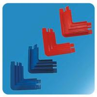Wholesale OEM ABS Freezer Replacement Parts Frame Corner Hardware Blue Red 200mm 70mm from china suppliers