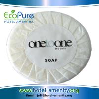 Wholesale Round pleat wrapped hotel soap ,guest soap ,hotem amenities soap from china suppliers