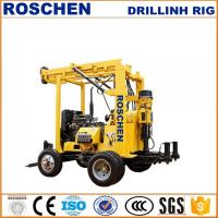 Wholesale Bore Hole Drilling For 200mm To 300mm Holes Portable Hydraulic Water Well Drilling Rig from china suppliers