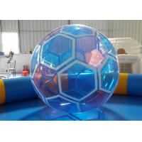 Wholesale 1.0 mm PVC Soccer Ball Inflatable Water Ball , Walking On Water Ball from china suppliers