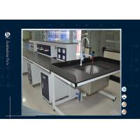Wholesale Multi Function Service Column Modular Laboratory Furniture With Sink Cabinet from china suppliers