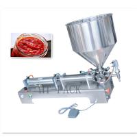 Wholesale 50-1000ml Capacity Semi-Automatic Filling Machine For Food / Pesticide Vials Liquid from china suppliers