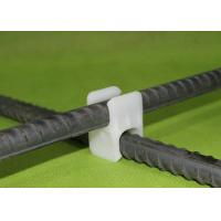 Wholesale Plastic Rebar Supports Spacer Chair PE Rebar Clips For Construction from china suppliers