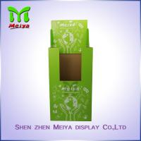 Wholesale Eco Friendly Recycled Custom Cardboard Dump Bins , Green Cardboard Shelf Bins from china suppliers